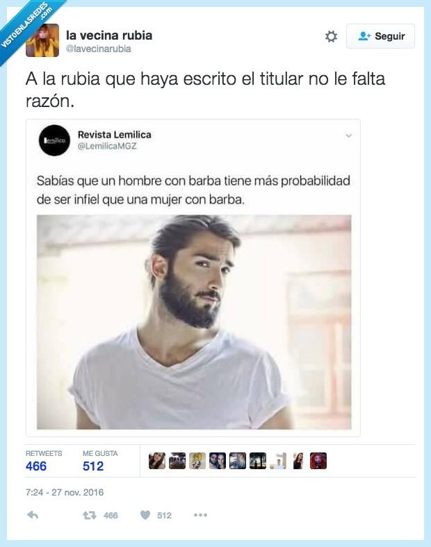 barba,ligar,mujer