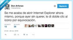 Enlace a Internet Explorer no es lento, se toma su tiempo por @donarfonzo