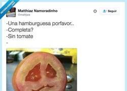Enlace a Nadie quiere al pobre tomate por @mattjws