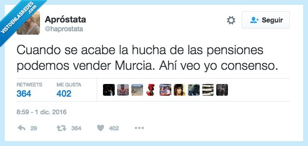 África,Murcia,pensiones,vender
