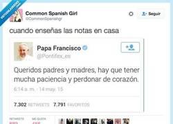 Enlace a Si lo dice el Papa va a misa por @CommonSpanishgr