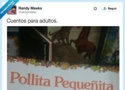Enlace a Los cuentos infantiles no lo tienen muy claro... por @randymeeks