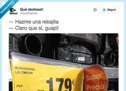 Enlace a Cuando le dejas poner las rebajas a una rubia por @Quedesfas
