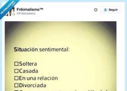 Enlace a VERDAD, VERDADERA por @Frikimalismo