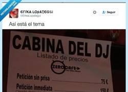 Enlace a Cada vez cuesta más que te pongan una canción en la discoteca por @ErikaLopategui