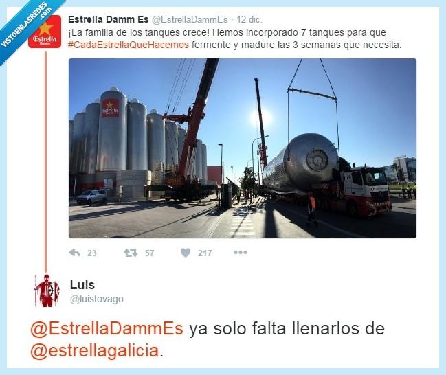 barril,cerveza,damm,deposito,estrella,galicia,tanque