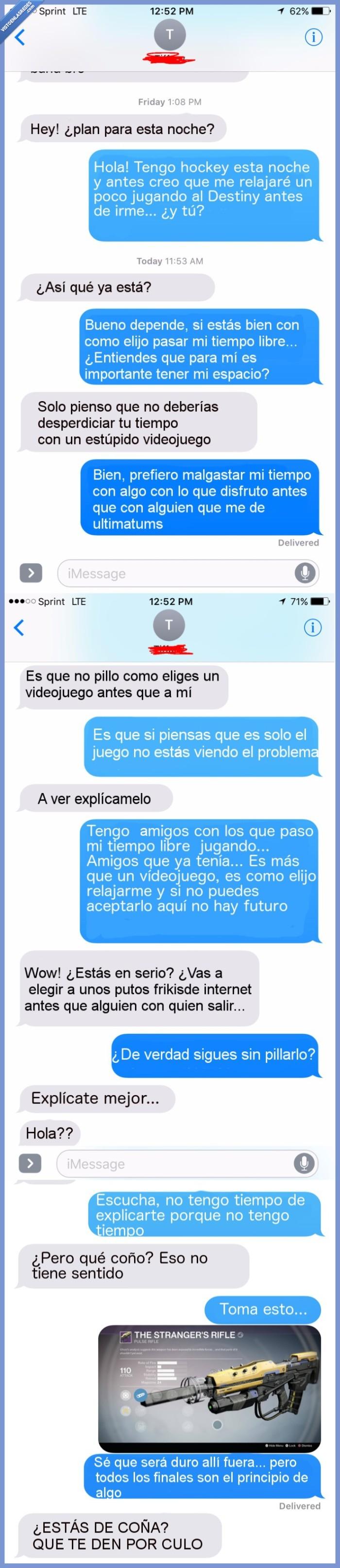 gamer,novia,relación
