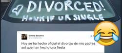 Enlace a Sus padres hacen oficial su divorcio y se montan una