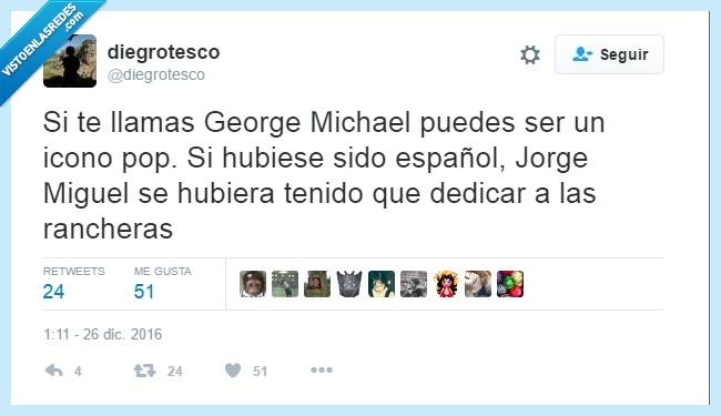 George Michael,Ingles,Jorge Miguel