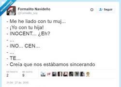 Enlace a Sinceridad, a veces se puede confundir por @Formalito_soy