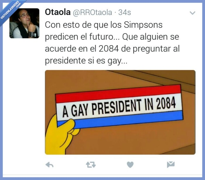gay,predicción,presidente,simpson