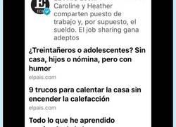 Enlace a El País te recuerda que no tienes donde caerte muerto pero la vida es mucho mejor si no te quejas...