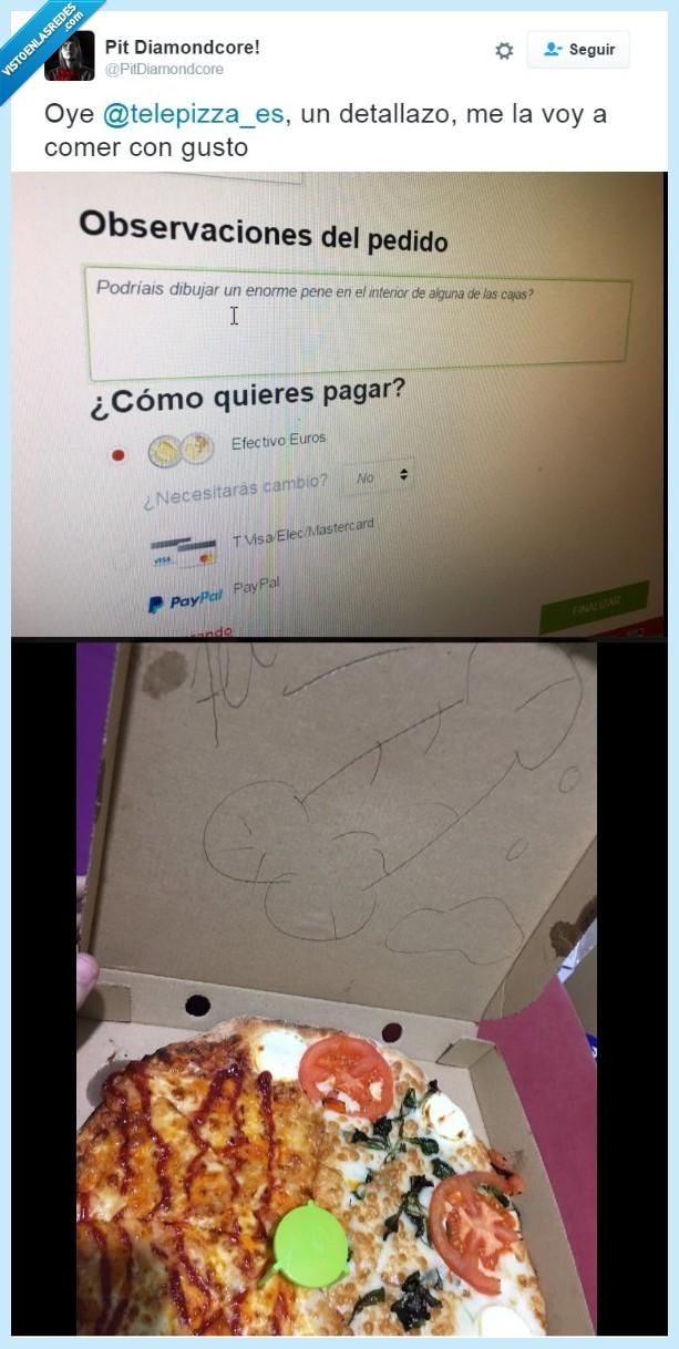 caja,dibujo,pizza