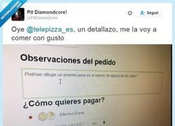 Enlace a Telepizza lleva al extremo la ley de