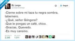 Enlace a Déjate de historias y ponte el café por @LargoJavariega