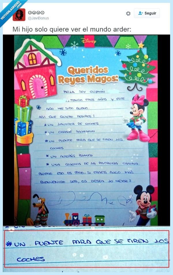 carta,niño,regalos,reyes