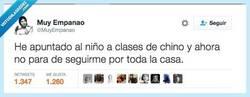 Enlace a Le dijeron el primer día de clase que se comportara igual que ellos por @MuyEmpanao