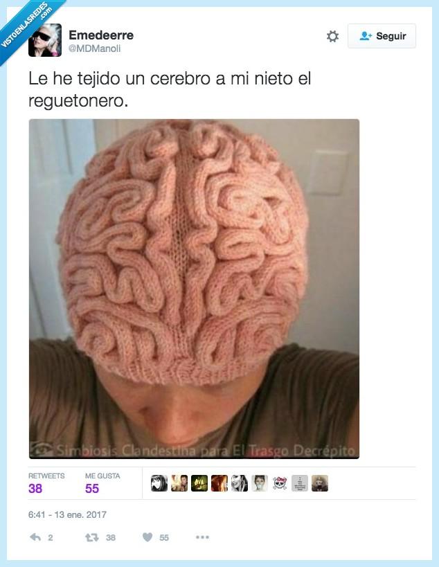 cerebro,gorro,tejer