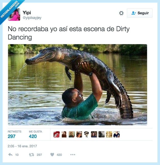 cocodrilo,dirty dancing,time of my life