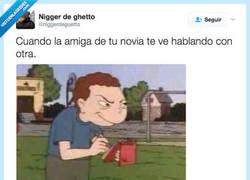 Enlace a No se le escapa ni una por @niggerdeguetto