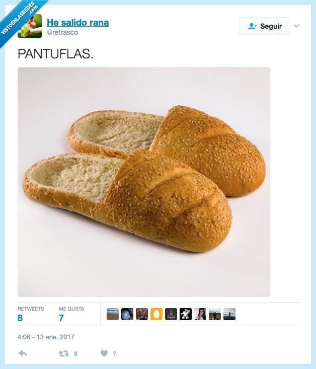 comida,dieta,pan,zapatillas