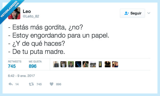 gorda,madre,papel