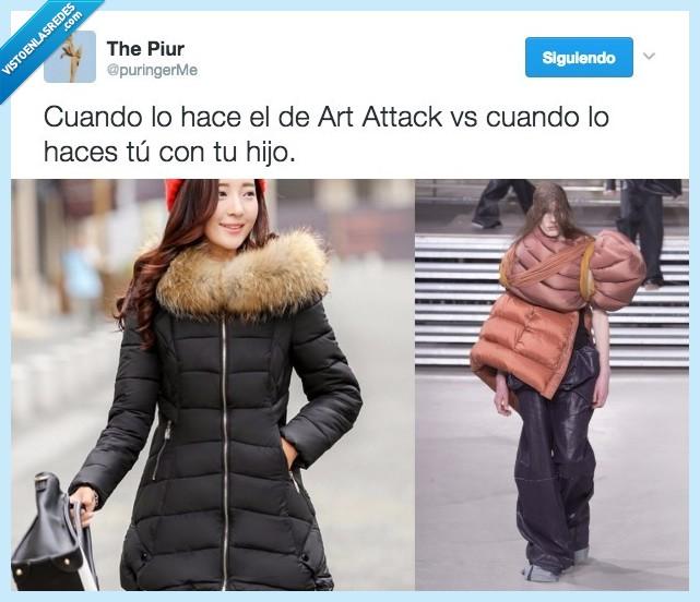 abrigo,art attack,diseño