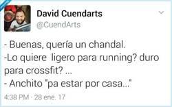 Enlace a Tanta tontería con los chandals... por @CuendArts