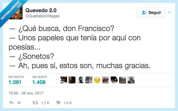 Francisco,los otros,papeles,sonetos