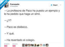 Enlace a Los peligros de ser disléxico por@Frenopatix