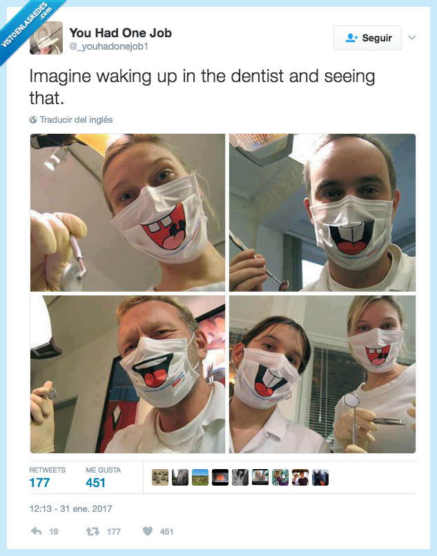 dentista,infarto,mascarilla,ver