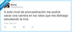 Enlace a La procrastinación máxima por @DavidRamosC_