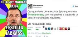 Enlace a Rajoy es protagonista de esta historia tan LOCA que está petándolo en Twitter por @biscayenne
