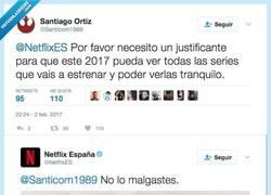 Enlace a El community de Netflix se corona después de sacarse este justificante de la manga