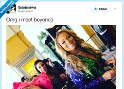 Enlace a Cuando se te va la mano con el maquillaje y te confunden con Beyoncé por @Jojosiwam