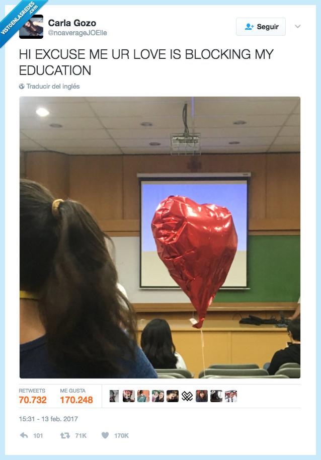 amor,educación,tapar