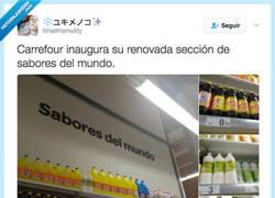 Enlace a Carrefour y su clara intención de matarnos a todos por @HailHomulilly
