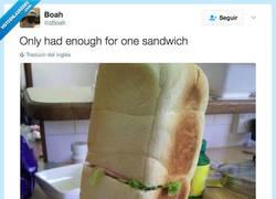 Enlace a Solo tuve para un sandwich por @zBoah