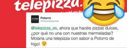 Enlace a La brillante respuesta del CM de @telepizza_es a la proposición de esta empresa te partirá en dos