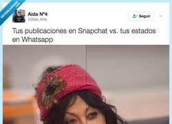 Enlace a A snapchat no ha llegado nuestros padres por @Abel_Kills