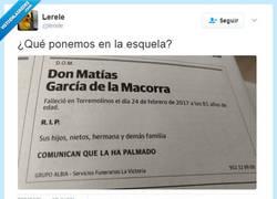 Enlace a Don Matías se ha quedado moñeco por @lerele