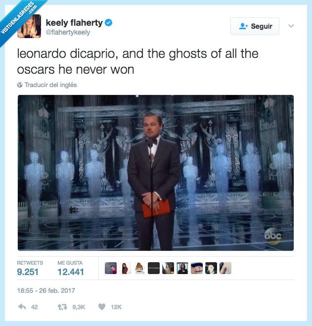 fantasma,ganar,Leonardo Dicaprio,Oscars