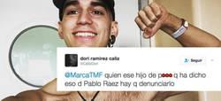 Enlace a El tweet de un desalmado sobre la muerte de Pablo Ráez que ha indignado a todo Internet