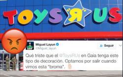 Enlace a Toys'R'Us la lía muy parda con esta decoración racista y ofensiva de su tienda