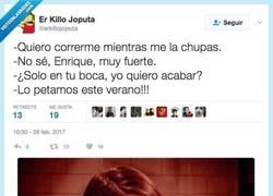 Enlace a Enrique le supo dar la vuelta por @elkillojoput