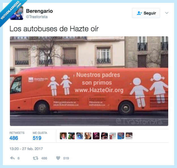 autobús,hazte oír,mensaje