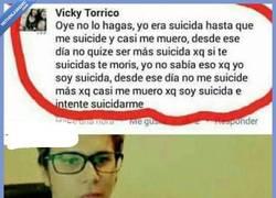 Enlace a Cuando te suicidas una y otra vez