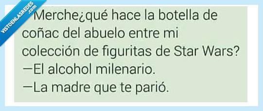 alcohol,halcón,star wars