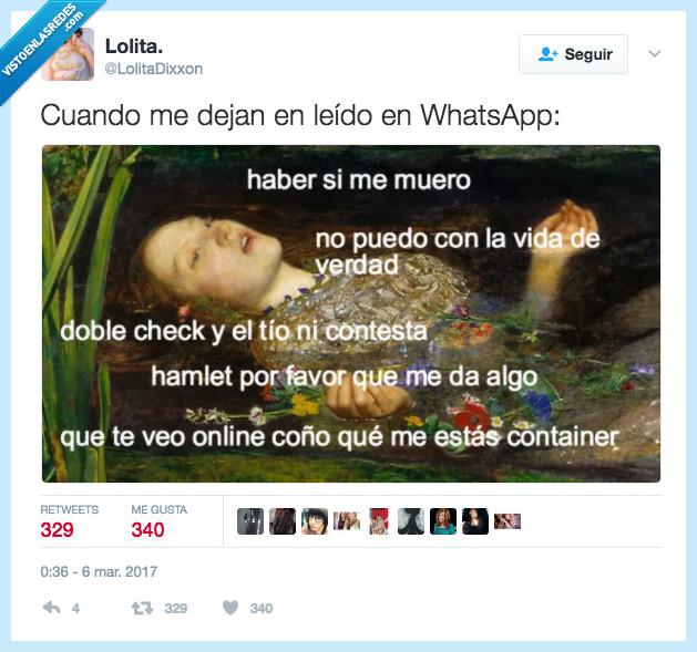 leído,paranoia,whatsapp