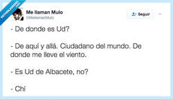 Enlace a Cuando no quieres decir de donde eres por @mellamanmulo